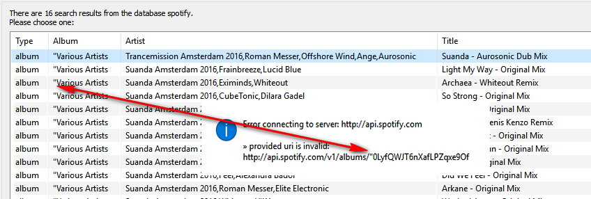 Not Working] Spotify, Gracenote and Saavn WebSource Scripts