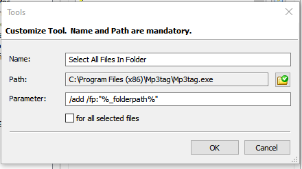 Tool - Select All Files In Folder