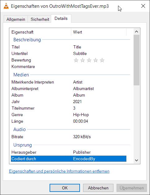 AttributesWindows File Explorer - Details #1