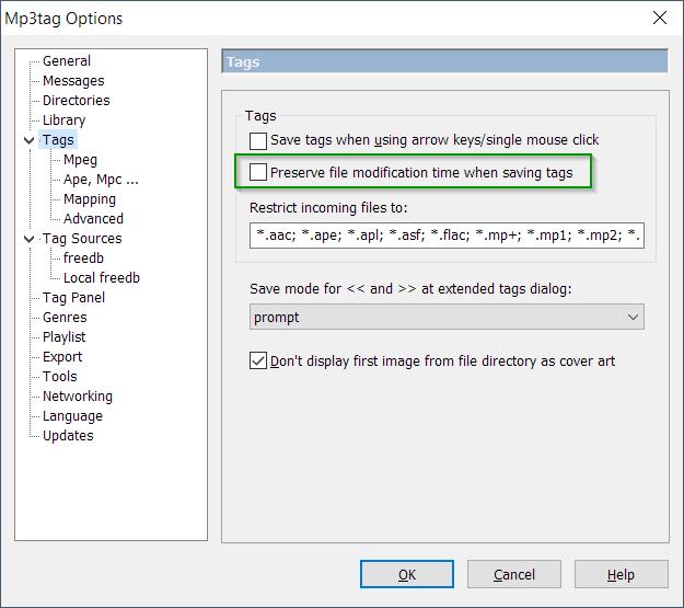 Preserve file modification time